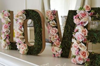 Kwiaty sztuczne w ślubnej dekoracji