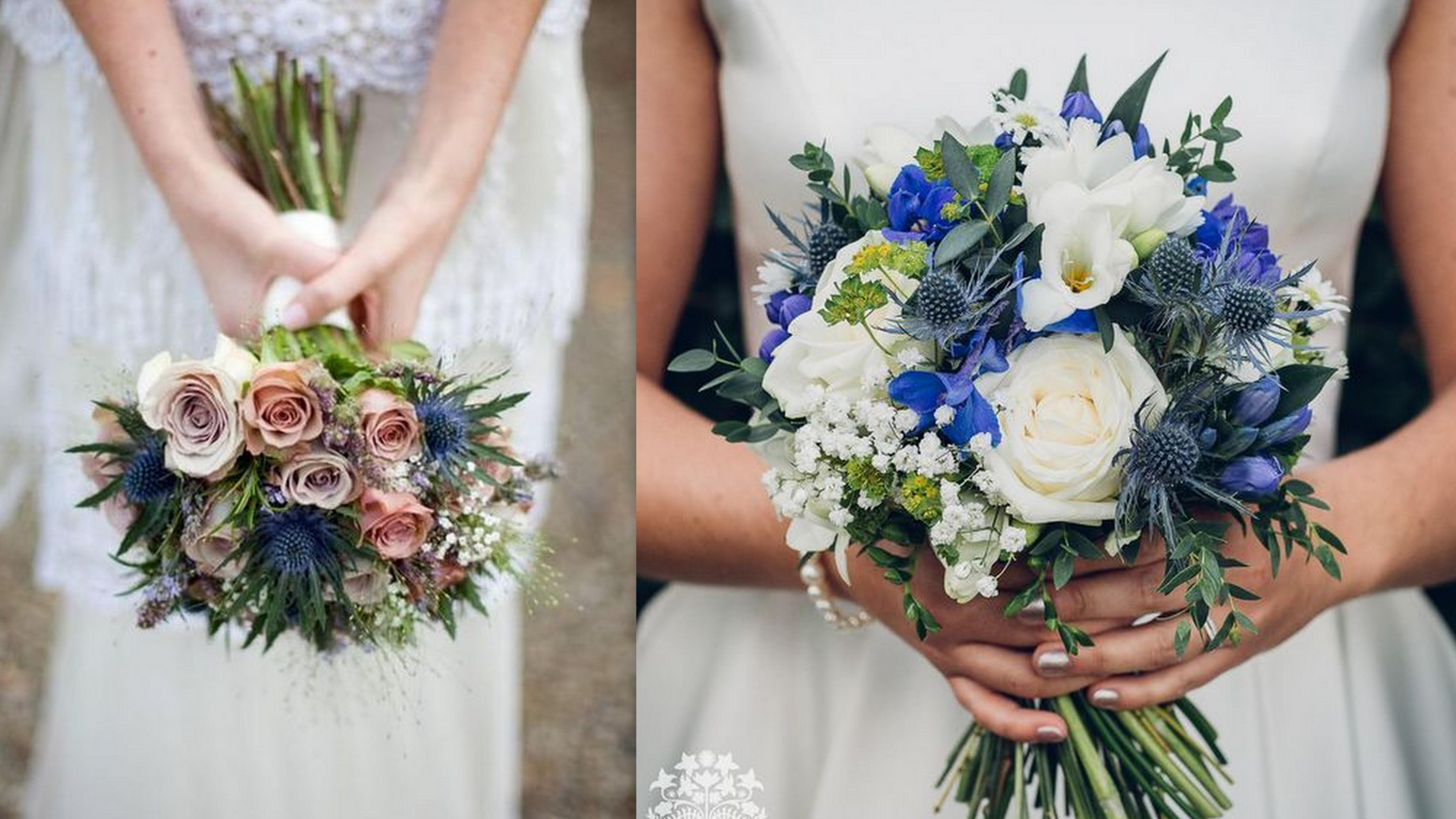 Jesienne propozycje bukietów ślubnych