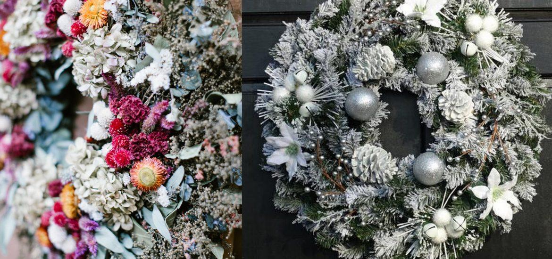Zimowe inspiracje do wnętrz - florystyczne propozycje